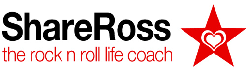 Share Ross - The Rock n Roll Life Coach
